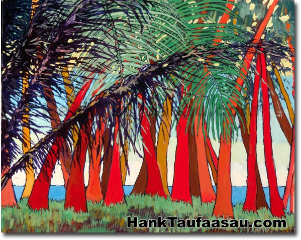 Sunset Time - Hawaii Fine Art by Hank Taufaasau