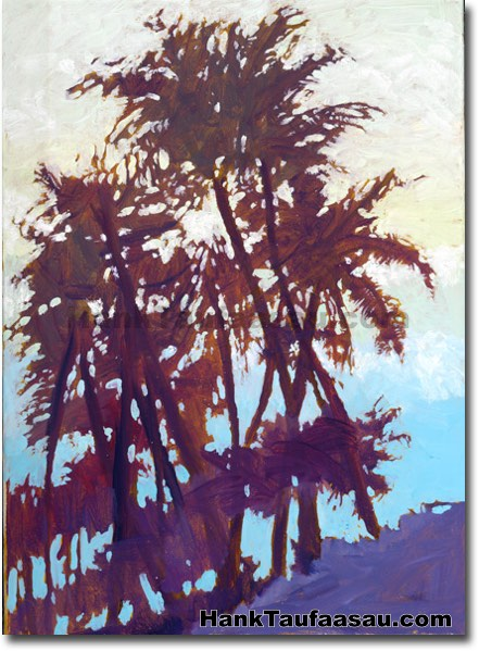 Kahala Beach - Hawaii Fine Art by Hank Taufaasau