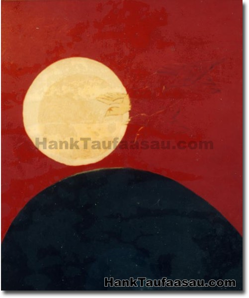 9 Moons - Hawaii Fine Art by Hank Taufaasau