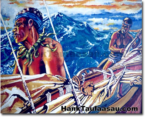 Voyage - Hawaii Fine Art by Hank Taufaasau