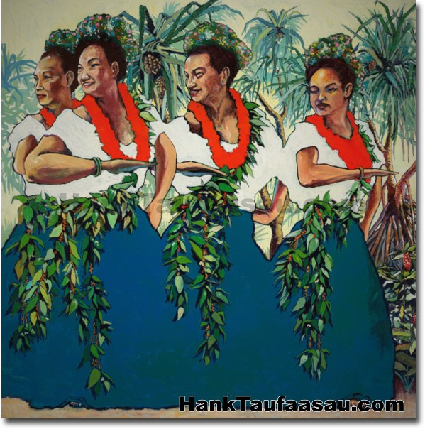 Nani Wale Na Hala, (Beautiful Are The Hala Trees) - Hawaii Fine Art by Hawa
