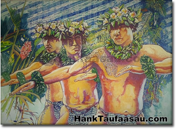 Paio!. Paio Like Mau! - Hawaii Fine Art by Hawaii Artist Hank Taufaasau